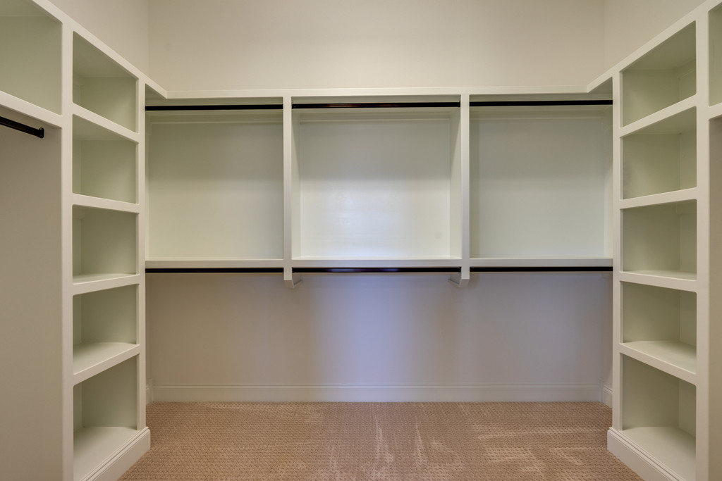 Master Closet with Custom Built-Ins