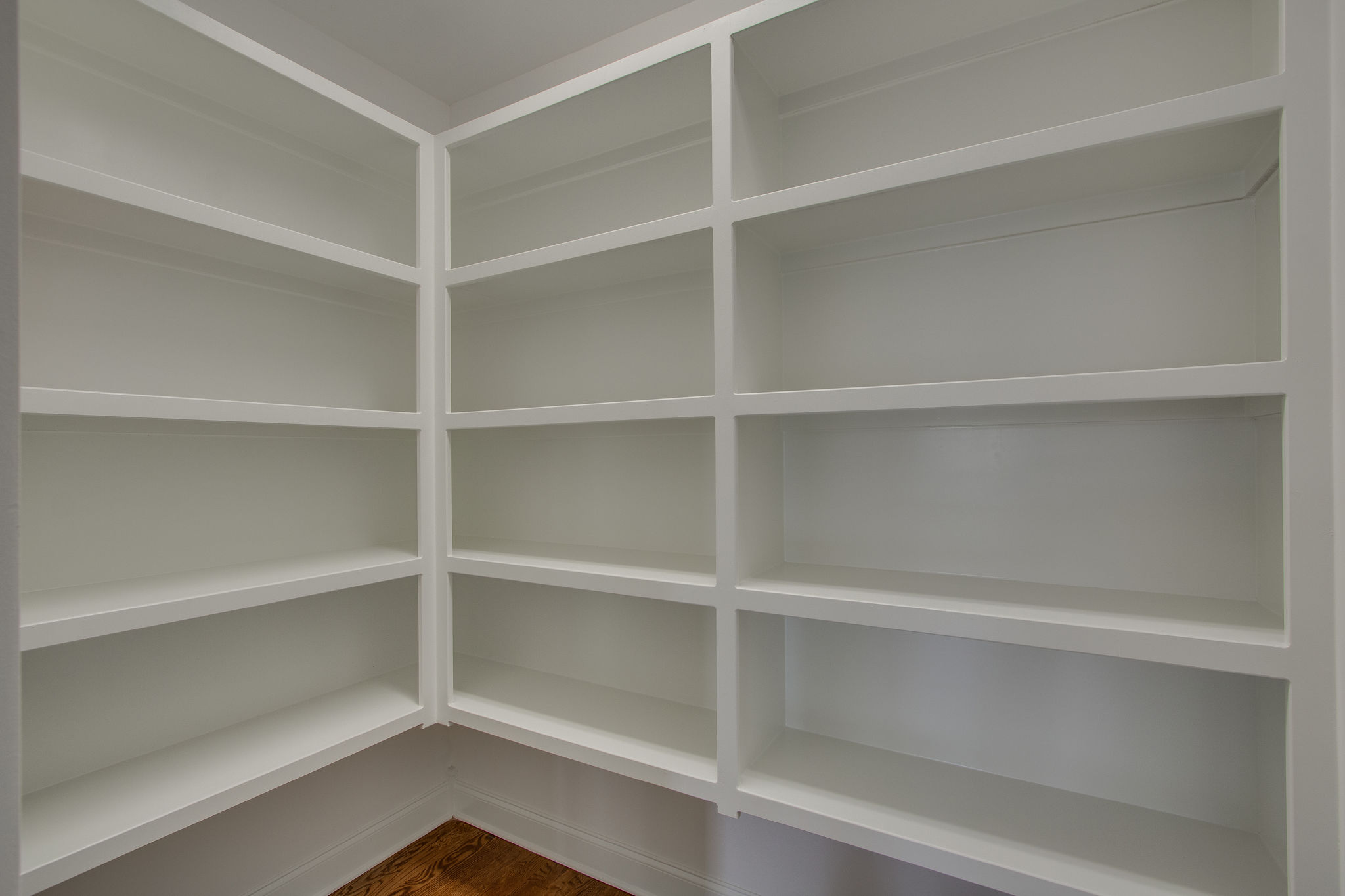 Large Pantry with custom built-ins
